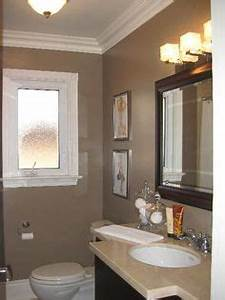 1000 ideas about taupe bathroom on pinterest oak trim With best brand of paint for kitchen cabinets with vintage plane wall art