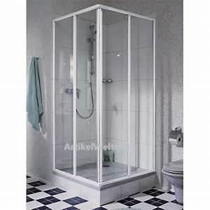 Duschkabine Komplett Günstig : eck duschkabine 2 tlg 90 cm x 90 cm fara kretana alu matt made in germany ~ Indierocktalk.com Haus und Dekorationen