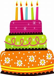 Birthday clipart birthday cake - Pencil and in color ...