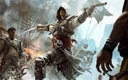 Creed Pirate Ship Attack Desktop Wallpapers Mobile