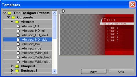 premiere pro title templates adobe premiere title templates
