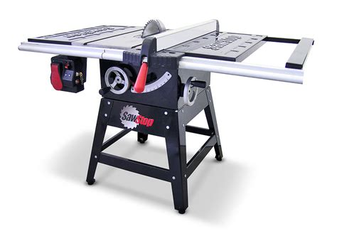 table saw safety stop sawstop the safest table saw on the planet