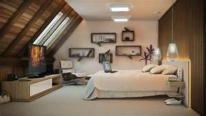 Fernseher Für Kinderzimmer : schlafzimmergestaltung wohnideen f r ein modernes schlafzimmer ~ Frokenaadalensverden.com Haus und Dekorationen
