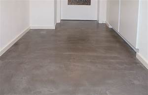 Beton Trockenzeit Fliesen : beton floor fussboden flur wohndesign beton statt fliesen betonoptik betonoptik fu boden ~ Markanthonyermac.com Haus und Dekorationen