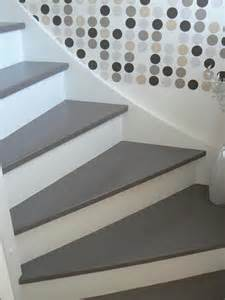 Escalier Bois Peint En Gris by Frederic Fontaine Escaliers