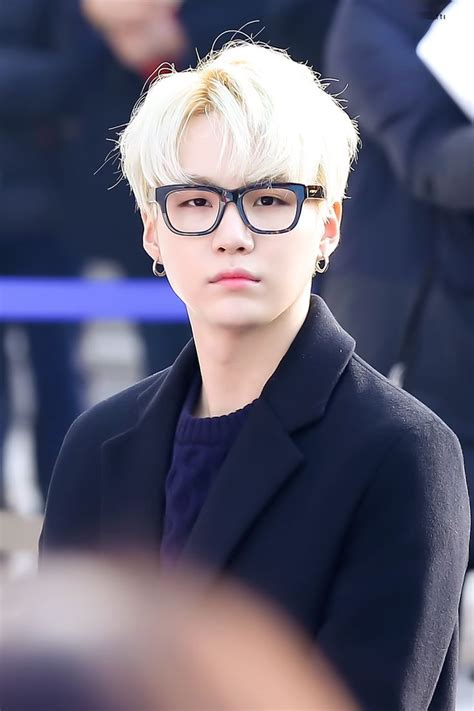 How Old Is Bts Suga Bts Suga With Glasses Blonde Hair Wearing All Black