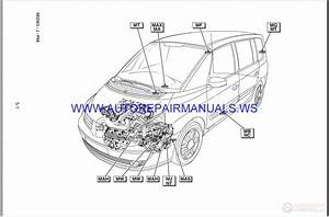 Renault Espace Iv X81 Nt8264 Disk Wiring Diagrams Manual