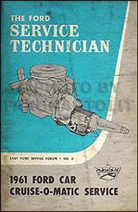 1961 Galaxie  U0026 Fairlane Wiring Diagram Manual Reprint