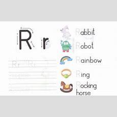 Alphabet Letters Worksheets For Kids  Preschool And Kindergarten