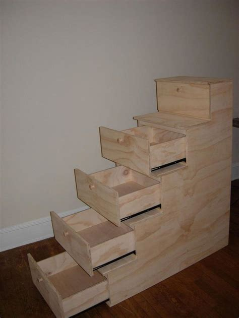 diy bunk bed plans  stairs woodworking projects