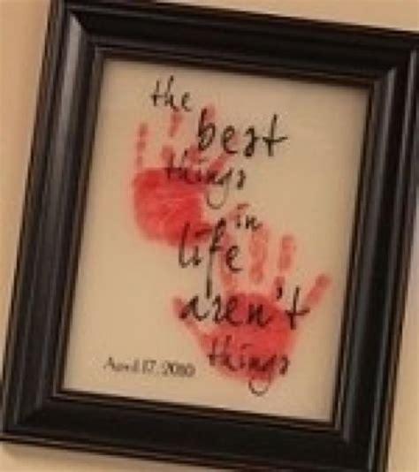 christmas gifts for grandparents little hands crafts handprint footprint art pinterest