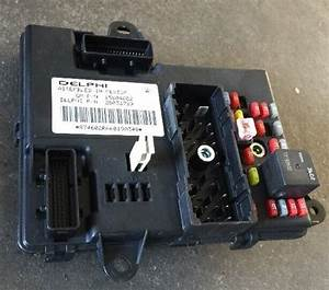2005 06 Chevrolet Malibu Bcm Fuse Relay Box Block Delphi