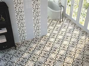 Carreaux De Ciment Adhesif Sol : carrelages mosa ques et galets aspect cx ciment ~ Premium-room.com Idées de Décoration