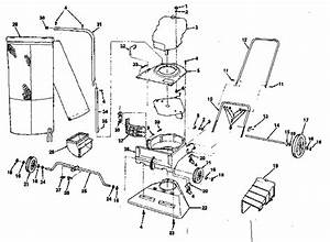 Craftsman 113798903 Chipper  Shredder Parts