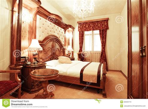 chambre a coucher de luxe chambre à coucher de luxe images stock image 25943774