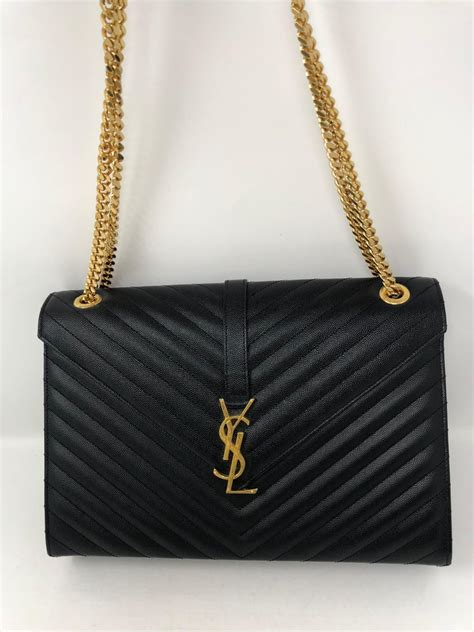 black ysl bag  stdibs