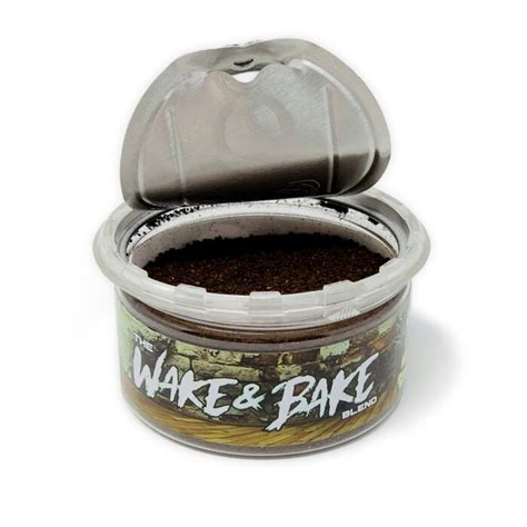 Handmade wake 'n' bake mugs starting at $14.99 + free shipping smoke and drink at the same time. Wake & Bake CBD Coffee by CannabisWithKymB | 1 oz, 30mg of CBD - TribeTokes