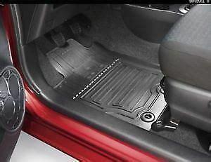 toyota yaris mats genuine toyota yaris yaris hybrid rubber floor mats