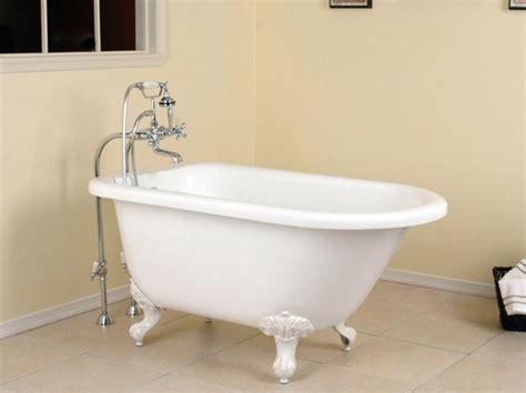 small bathtubs tiny bath tub sizes elledecorcom