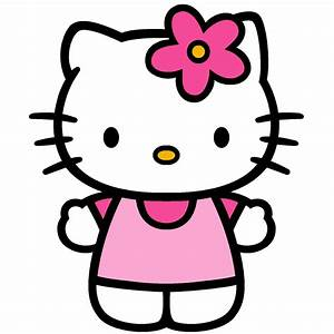 hello kitty party look at what i made With hello kitty cut out template