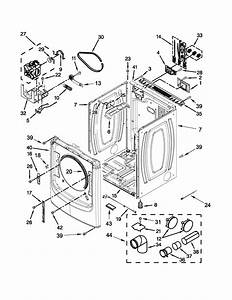 Cabinet Parts Diagram  U0026 Parts List For Model Med6000xw2