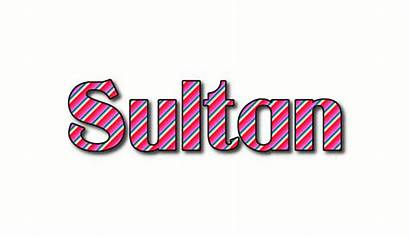 Sultan Logos Text Flaming Tool Animated