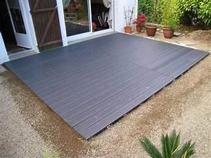 Plot Terrasse Castorama : comment poser une terrasse composite sur lambourdes et ~ Dode.kayakingforconservation.com Idées de Décoration