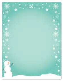 Free Printable Christmas Letter Paper
