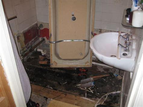 Repair Bathroom Floor by Rotten Bathroom Floor Search My House