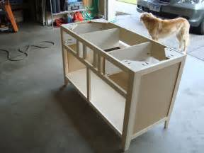diy wood design kreg jig dresser plans