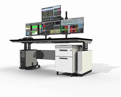 Desk Trading Professional Sustema Traders Setup Desks