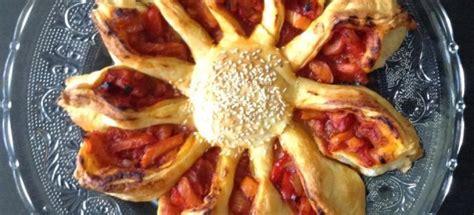 tarte de soleil aux poivrons recettes cookeo