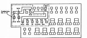 Eagle Talon  1997 - 1998  - Fuse Box Diagram