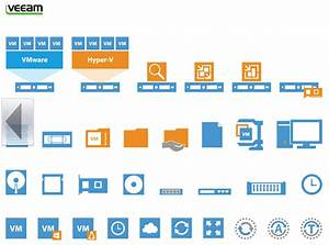 Create Your Own Diagrams In Microsoft Visio With The Veeam Stencils For Vmware