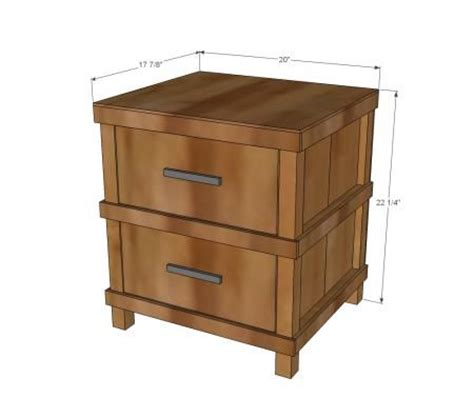 Nightstand Plans Free by Nightstand Plans Kreg Woodworking Projects Plans