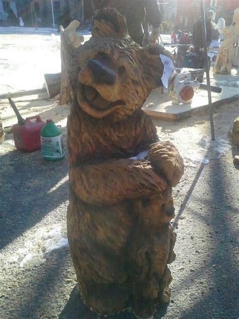 happy bears  jesse beeson  illinois chainsaw wood