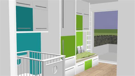 amenagement d une chambre aménagement d une chambre pour 2 enfants slbconception
