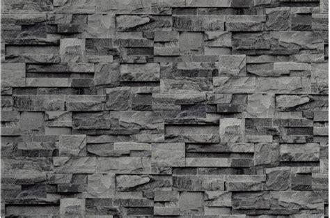 papier peint parement papier peint de parement grise papiers peints brique pierres pas cher