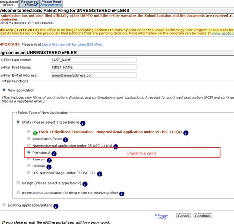 provisional patent template uspto filing a provisional patent application onlinepatentfile org