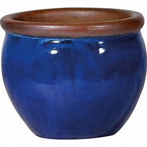 Pots En Terre Cuite Carrefour : pot terre cuite maill e deroma x cm bleu ~ Dailycaller-alerts.com Idées de Décoration