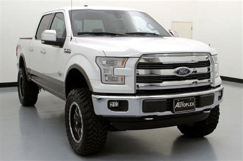 ford  king ranch skyjacker lift fuel wheels