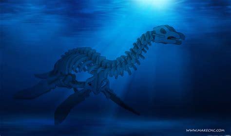 Plesiosaurus Marine Reptile