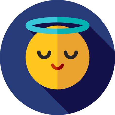 angel emoticons emoji feelings smileys icon