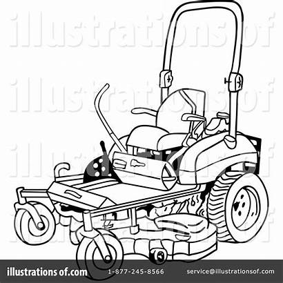 Clipart Coloring Mowing Mower Lawn Transparent Webstockreview