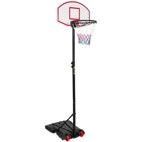kids junior height adjustable basketball hoop stand