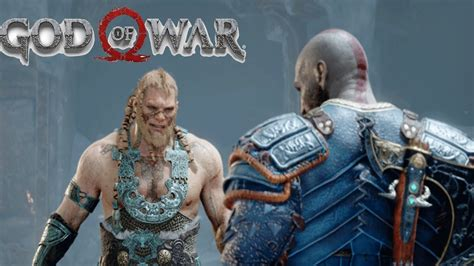 God Of War Ps4 Kratos Vs Thors Son Modi Boss Battle