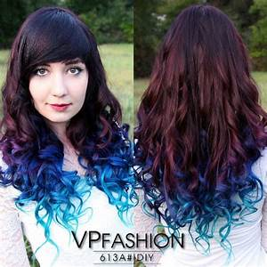 Hair Trends 2015 10 Hottest Blue Dip Dye Hair Colors For