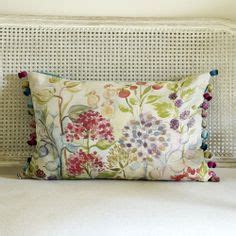 Spencer Home Decor Jacobean Floral Curtains by Hedgerow Large Floor Cushion Voyage Maison Www