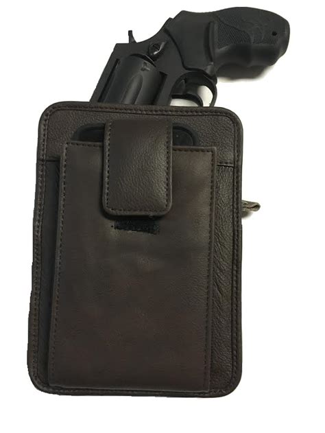 cell phone gun holster leather concealment gun holster and cell phone all in