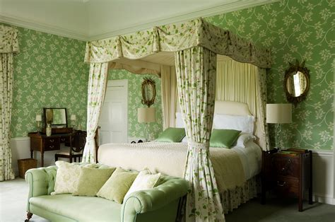 Kitchen Paint Ideas White Cabinets - irish country green bedroom interiors by color